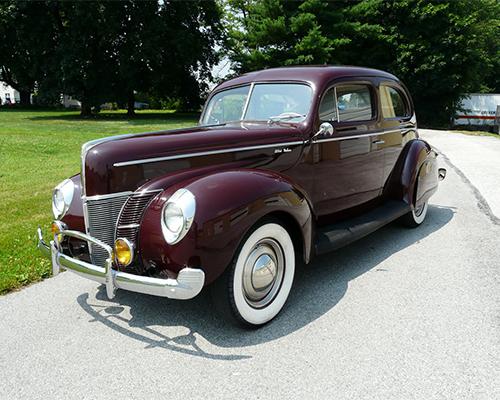 1940 Ford Delux Tudor Sedan Jcrist Museum