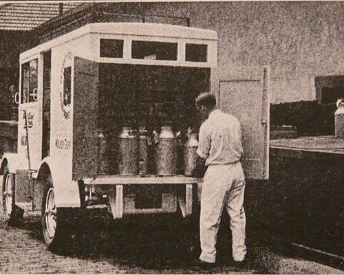 1926 Divco Truck - Model A - Jcrist Museum