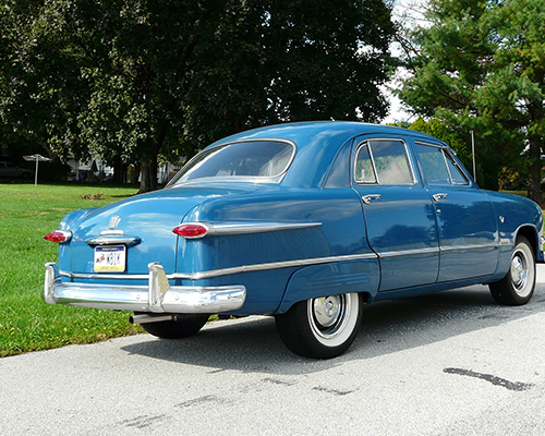 1951 ford custom 4 door sedan jcrist museum for 1951 ford 4 door sedan